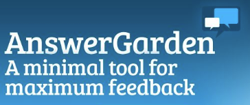 Answer Garden-Ideal for collaboration